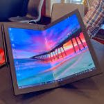Lenovo Introduces  World's in First Foldable Laptop