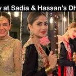 Sadia and Hassan's wedding: Sajal, Iqra and Yasser Hussain's hymn, video viral