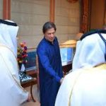 Prime Minister Imran Khan meets with the Emir of Qatar