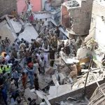 Karachi the death toll in a collapsed building in the city of quaid has risen to 20