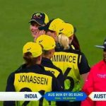 Australia beat India by 85 runs to win the title for the fifth time at the Woman's T20 World Cup