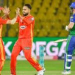 Karachi: In the third match of the sixth edition of Pakistan Super League, Islamabad United defeated Multan Sultans by 3 wickets.