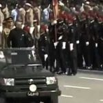 ISLAMABAD: A spectacular parade was held on the occasion of Pakistan Day.