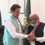 Former Sindh Chief Minister joins PTI.