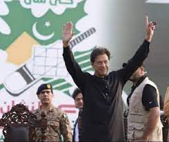 Unofficial results: PTI wins simple majority in Azad Kashmir elections.