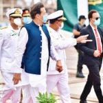 Karachi PM inaugurates shiplift and transfer system.