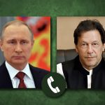 Islamabad Prime Minister and Russian President discuss telephone situation in Afghanistan.