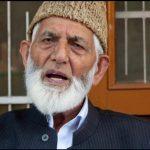 Srinagar senior Kashmiri Hurriyat leader Syed Ali Gilani has passed away.