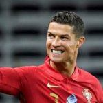 Football superstar Cristiano Ronaldo has set a world record for most international goals in the history of football.