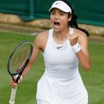 Emma, 18, of the United Kingdom, made history by winning the US Open.
