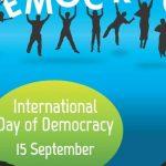 World international Democracy Day.